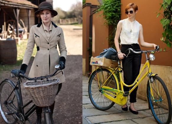 Ретро: Как одеться для велосипедной прогулки
