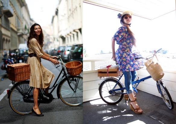 Стрит фэшн: Как одеться для велосипедной прогулки