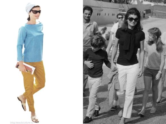 Бесплатная консультация стилиста имиджмейкера №2 - Жаклин Кеннеди - Пример стиля кэжуал